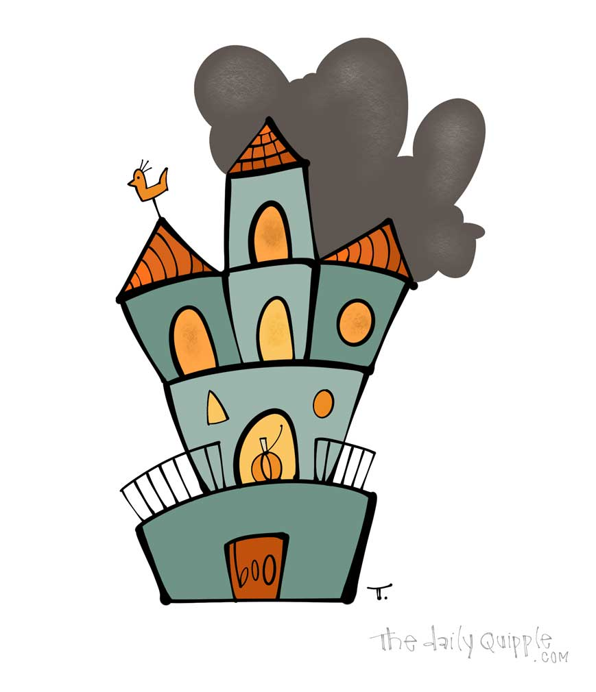 One Spooky Dwelling   The Daily Quipple