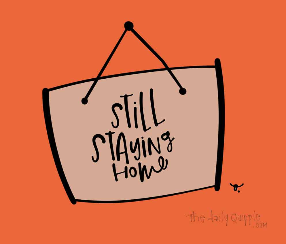 Stay Home Still   The Daily Quipple