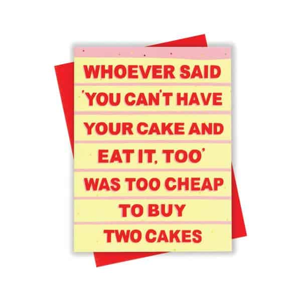 Buy Two Cakes
