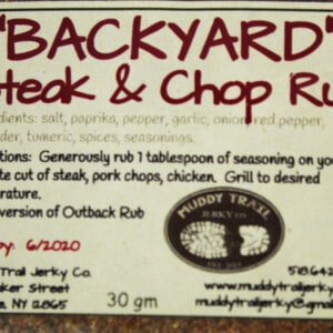 Backyard Steak and Chop Rub