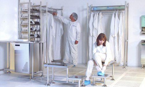 cuarto limpio industrial