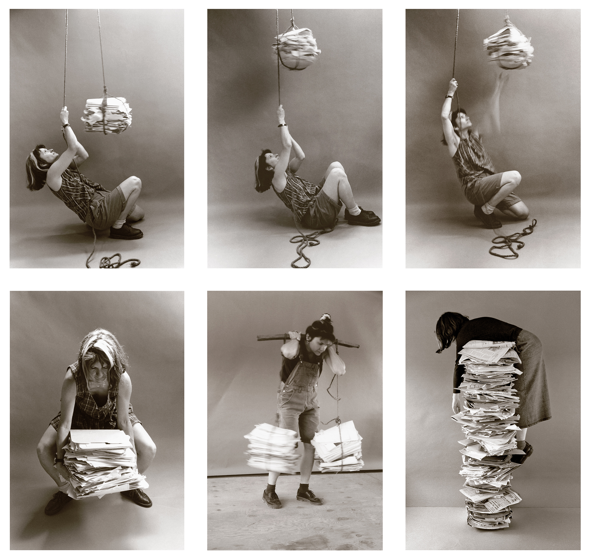 Self-Portraits with Files (1995/2020); on view in the exhibit, Access, curated by Ani Ohanessian, Ara Oshagan and Anahid Oshagan at ReflectSpace Gallery, Glendale CA