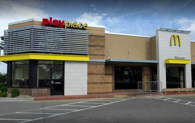 """McDonalds in Olathe blows inspection, """"approximately 50% of dishes and utensils, stored as clean on the shelves next to the 3 vat sink, had sticker residue and food debris on them"""""""
