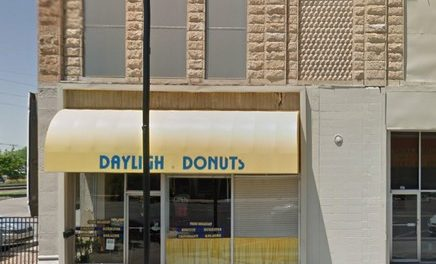 Hutchinson's daylight Donut fouls inspection; Three live roaches were found in the storage area behind the kitchen, three live roaches were found in the prep kitchen