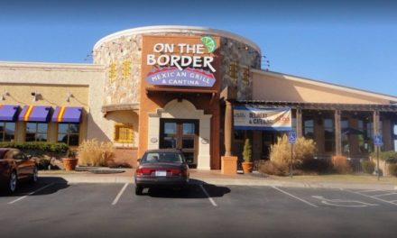 Live cockroach on the floor in the kitchen; Wichita's On The Border Mexican Grill & Cantina blows inspection with 8 violations