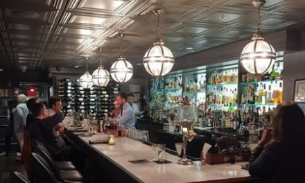 324 Speakeasy in Manhattan fumbles restaurant inspection;  using canvas bag to crush ice, no hand soap at the kitchen hand washing sink