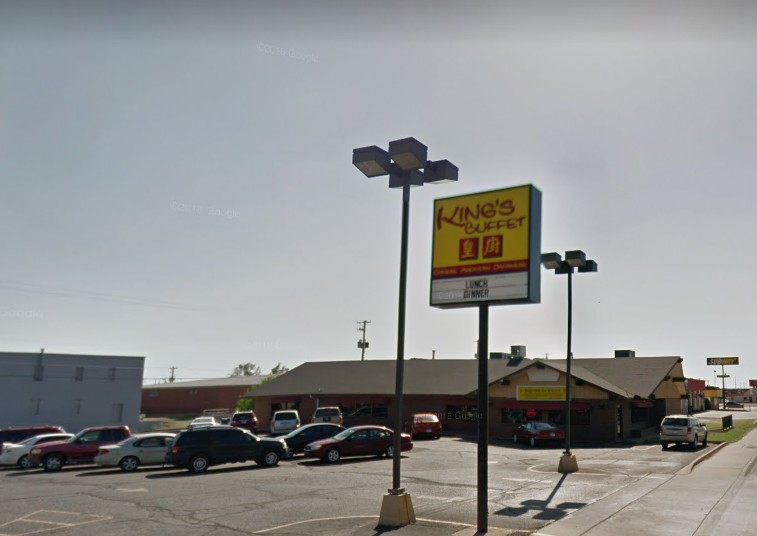 """2nd time in Feb King's Buffet in Dodge City, """"Did not cease operations and notify KDA of the imminent health hazard of sewer back up the ware washing and prep sink floor drain"""""""