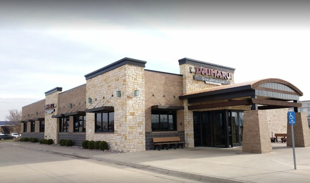 Inspector; WD-40 used on slicer arm; Salina's Daimaru Japanese Steakhouse & Sushi in Salina hit with 4 violations not using food grade lubricant