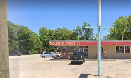 Wichita's Taqueria el Fogon fouls inspection; Two cockroach eggs on the floor, one appears hatched, 3 live cockroaches on a nearby glue trap, 11 violations