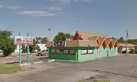 20 violations at Tacos El Tapatio in Garden City; numerous flies in the kitchen landing on food contact surfaces- cutting boards and prep table