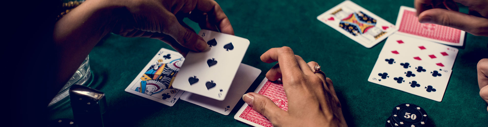 Casino game rentals, including card games, for Boston parties
