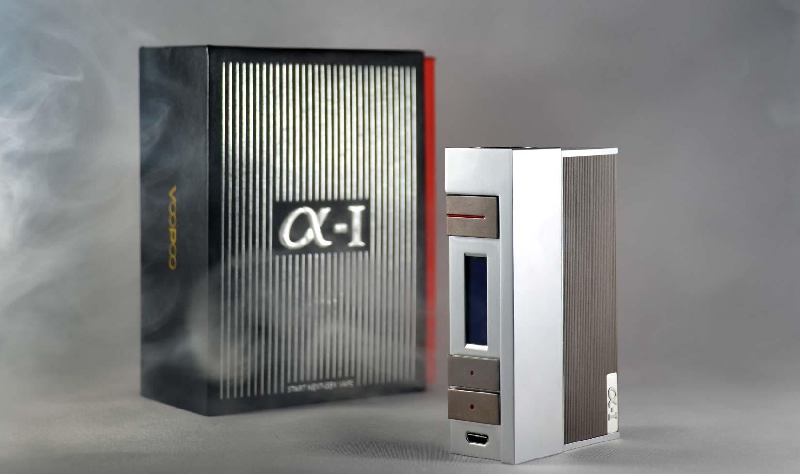 VooPoo Alpha One Box Mod Available at Vapeloft MD