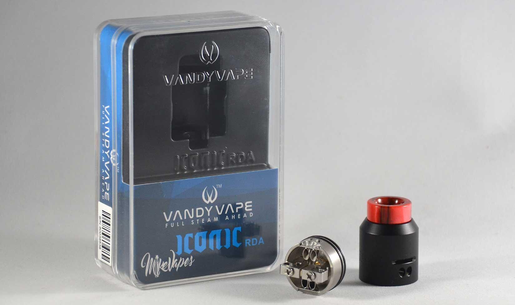 The Vandy Vape Iconic RDA