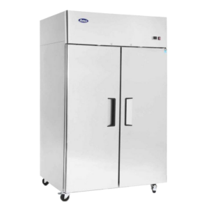 Atosa fridge stainless two door commercial fridge MCF 8605