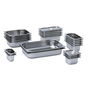 Gastronorm (GN) Solid Pans / Containers