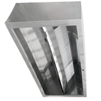 Commercial kitchen Hood Canopy