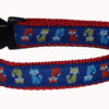 Foxes Dog Collar