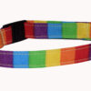 Rainbow Cotton Cat Dog Collar