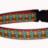 Puzzle Pieces Autism Dog Collar