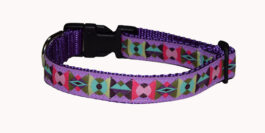 Arrowhead Starlight Pink Dog Collar