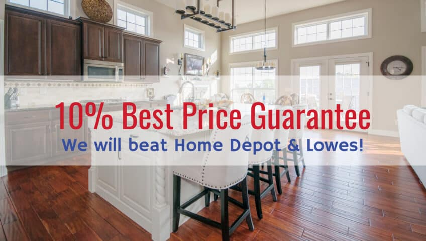 10% Best Price Guarantee