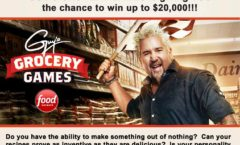 """Casting Call for """"Guy's Grocery Games"""""""