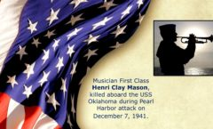Memory and Sacrifice of USS Oklahoma Sailor Henri Clay Mason Honored at National Memorial Cemetery of the Pacific