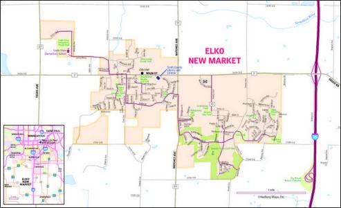 ENM map