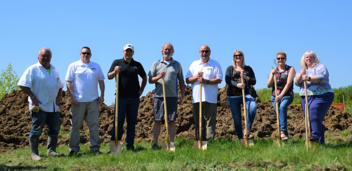 City and Syndicated Properties break ground on new townhome development