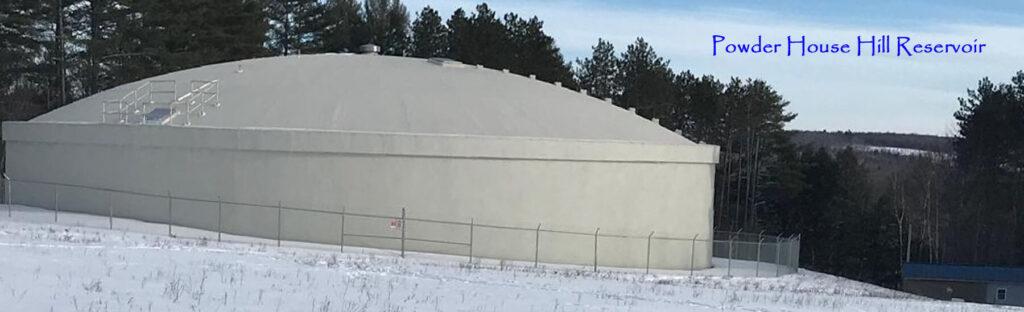 Powder House Hill Reservoir banner image.