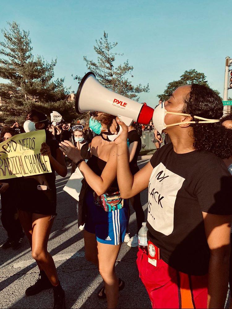 Black Lives Matter protest Kansas City