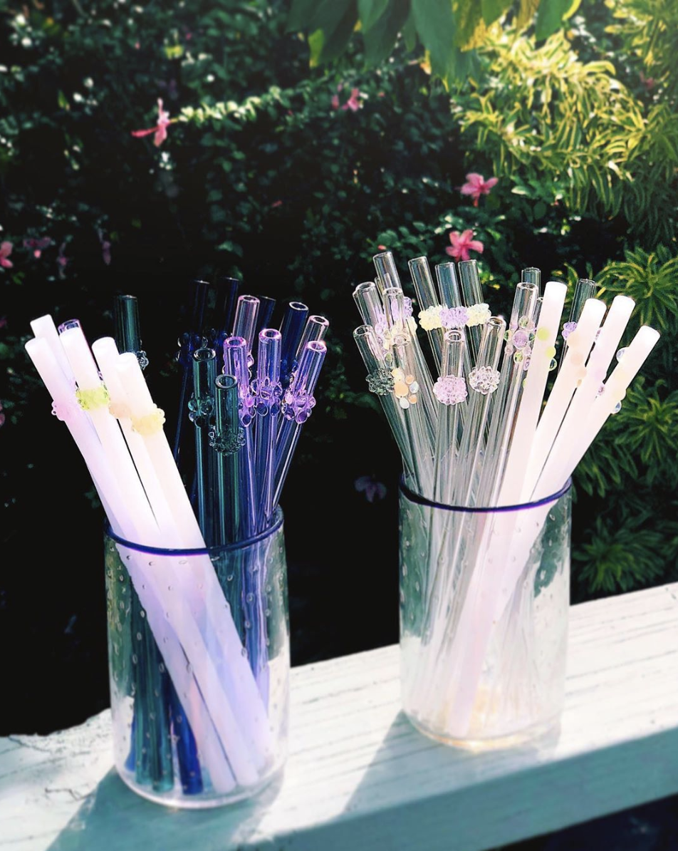 Glass Reusable Straws