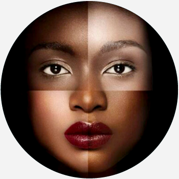 Different skin tones and colorism