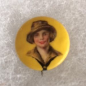 1920s Girl Scout Pinback