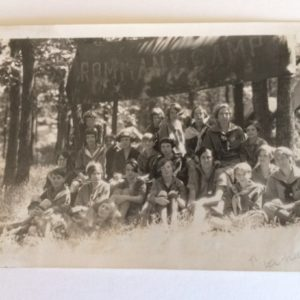1930 Girl Scout Camp Photo