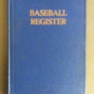 Baseball Register from 1940