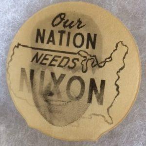 Nixon Presidential Flasher - Our Nation Needs Nixon