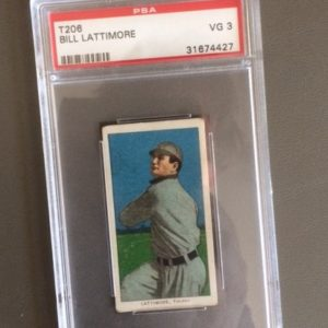 T206 Bill Lattimore Tobacco Baseball Card 1909