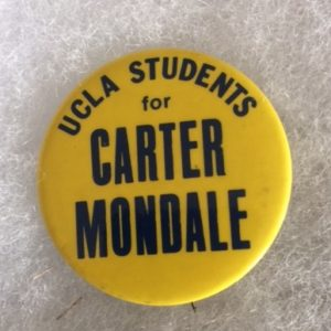 UCLA Students for Carter Mondale Pinback
