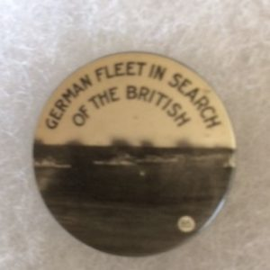 World War I German Fleet pinback