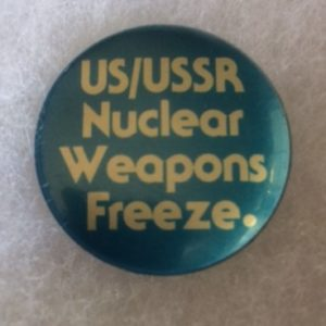 US USSR Nuclear Weapons Freeze