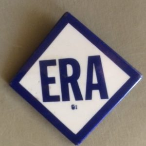ERA Equal Rights Amendment Pinback