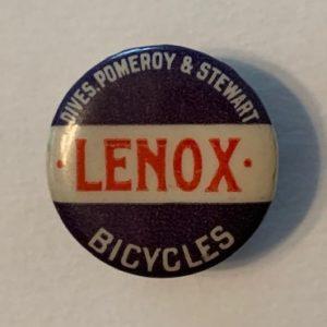 Lenox Bicycle stud 1890s