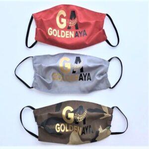 Golden Aya Facemask