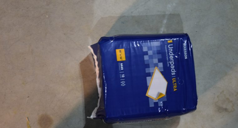 Mickesson Underpads 10 boxes