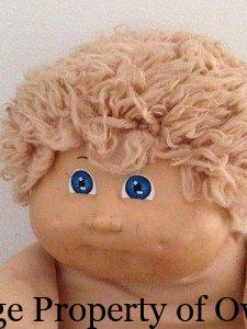 Cabbage Patch boy - Yello80s collection