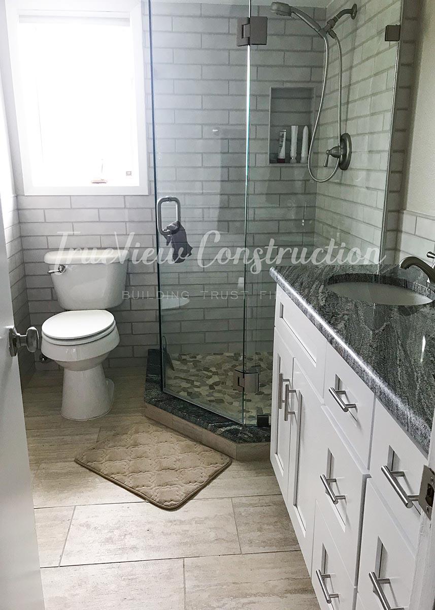 Custom Guest Bathroom Remodel