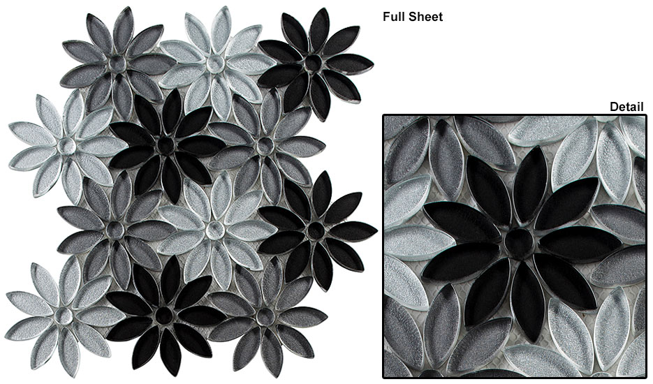 Floral Greys