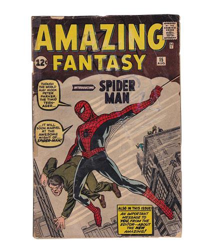 Comic Book Restoration - Action comics BEFORE