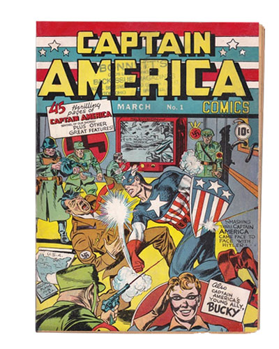 Comic Book Restoration - Captain America AFTER